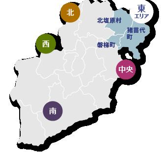 東エリア地図