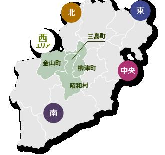 西エリア地図