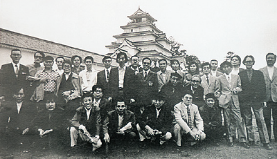 手塚治虫と会津 親睦旅行で鶴ヶ城を訪れたとき
