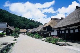 下郷町・夏の大内宿