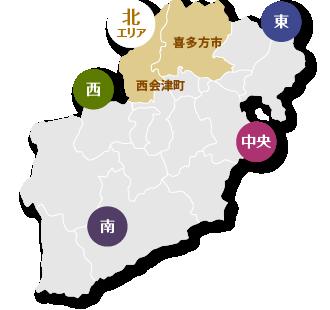 北エリア地図