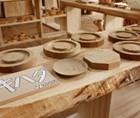 伝統工芸品木の資料館・木工展示販売所