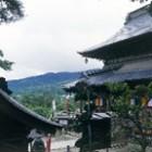 圓藏寺と奥之院の鐘の音