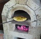 特殊なピザ焼き体験