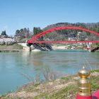 福満虚空蔵尊圓藏寺と只見川周辺の桜