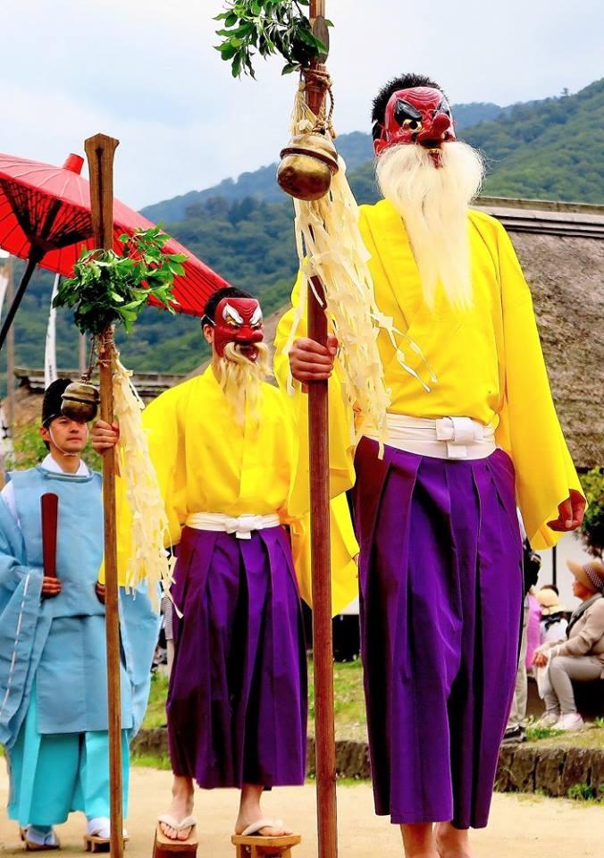Hange matsuri (Half Summer festival)